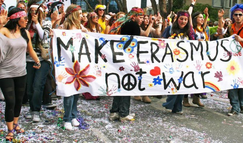 Make erasmus not war