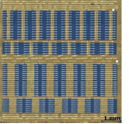 Graphene on silicon chip